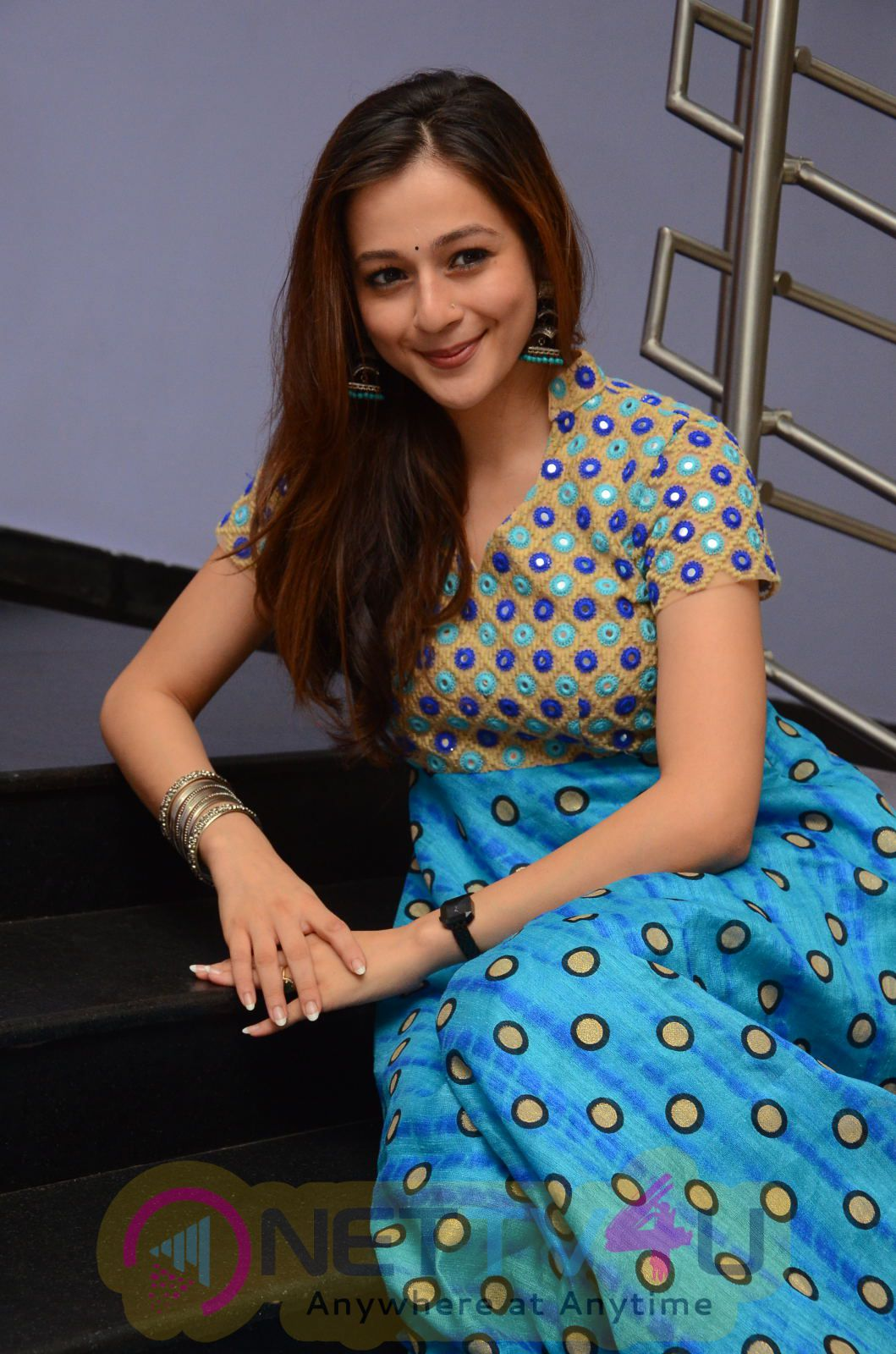 Actress Priyal Gor Beautiful Photos At Chandamama Raave Teaser Launch