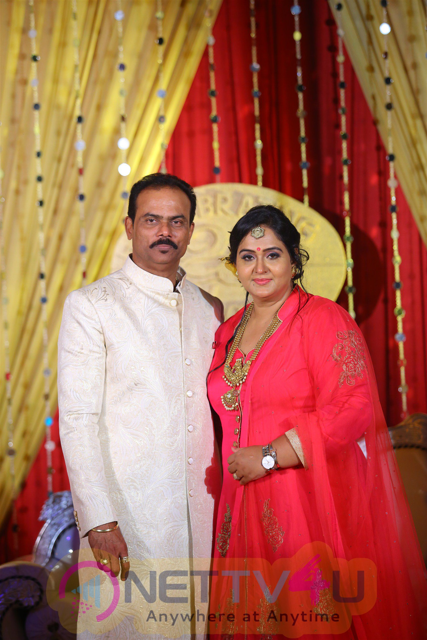 Actress Radha 25th Wedding Anniversary Exclusive Stills Tamil Gallery