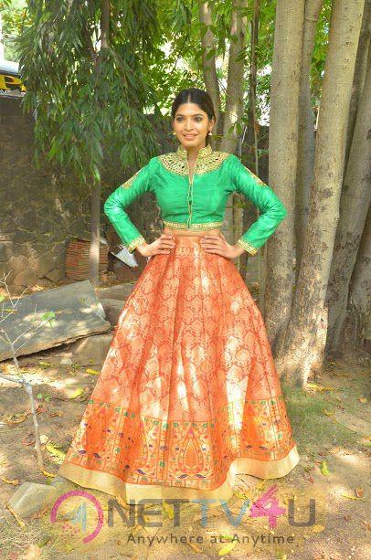 Actress Sanchita  Shetty Attractive Pics At Enkitta Mothathe Movie Audio Launch