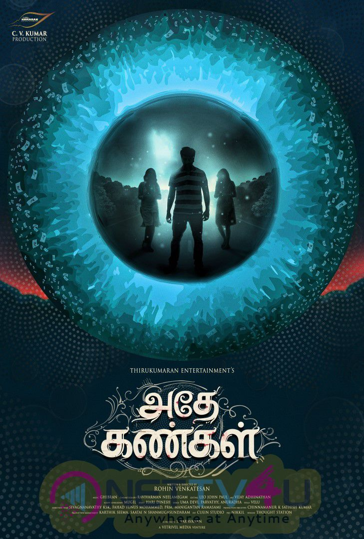 Adhe Kangal Tamil Movie HD First Look Posters