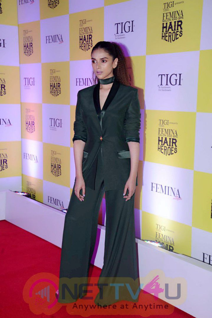 Aditi Rao Hydari Slays At The Femina Hair Hero Awards Stills