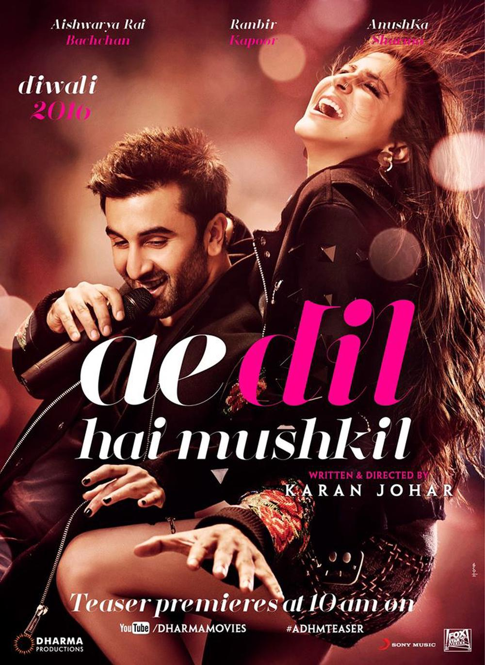 Ae Dil Hai Mushkil Hindi Movie