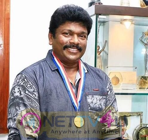 After Kamal Haasan,  Parthiepan Bagged An Award Stills