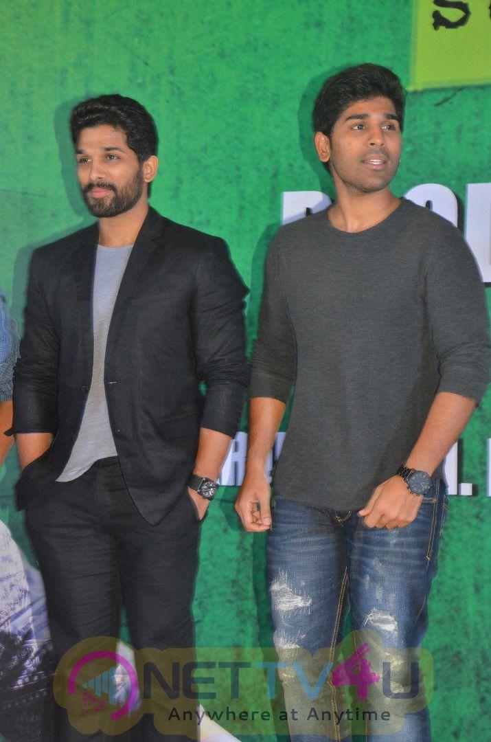 Allu Arjun And Lingusamy New Movie Launch Photos