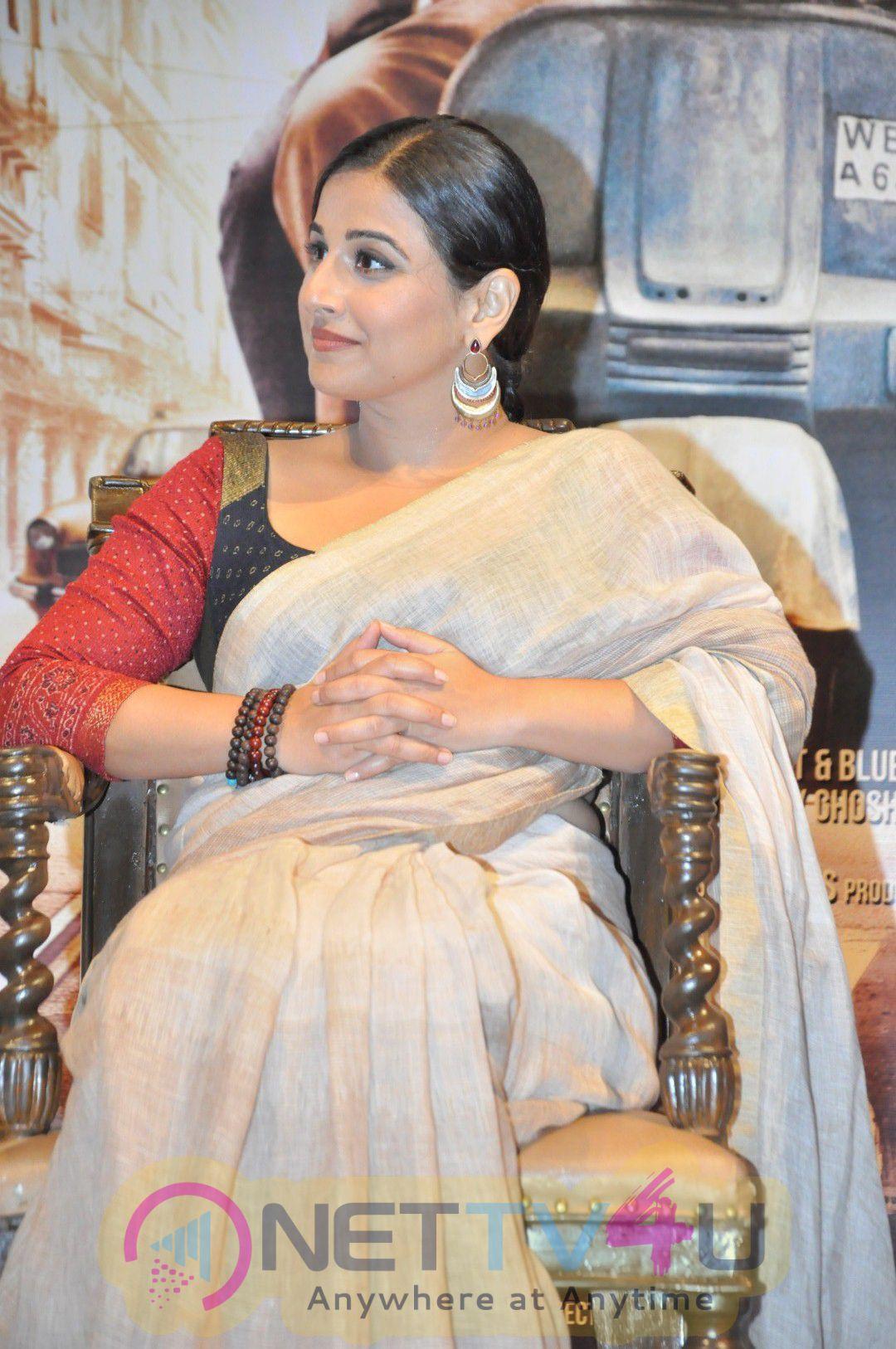 Amitabh Bachchan & Vidya Balan At Song Launch Of Film TE3N Exclusive Stills
