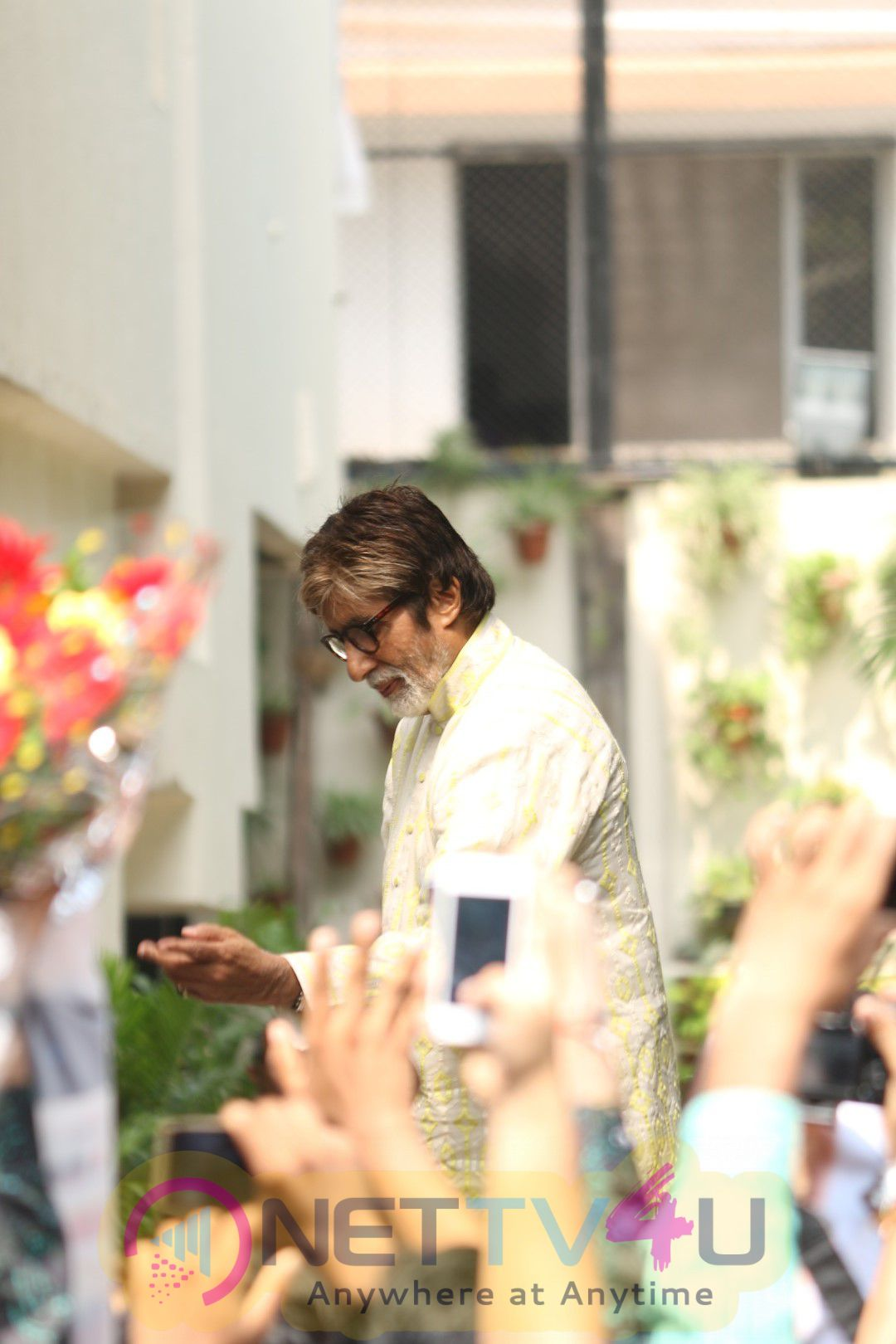 Amitabh Bachchan Celebrates His 74th Birthday Exotic Stills