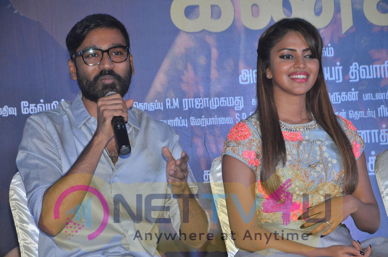Amma Kanakku Movie Audio Launch Attractive Stills