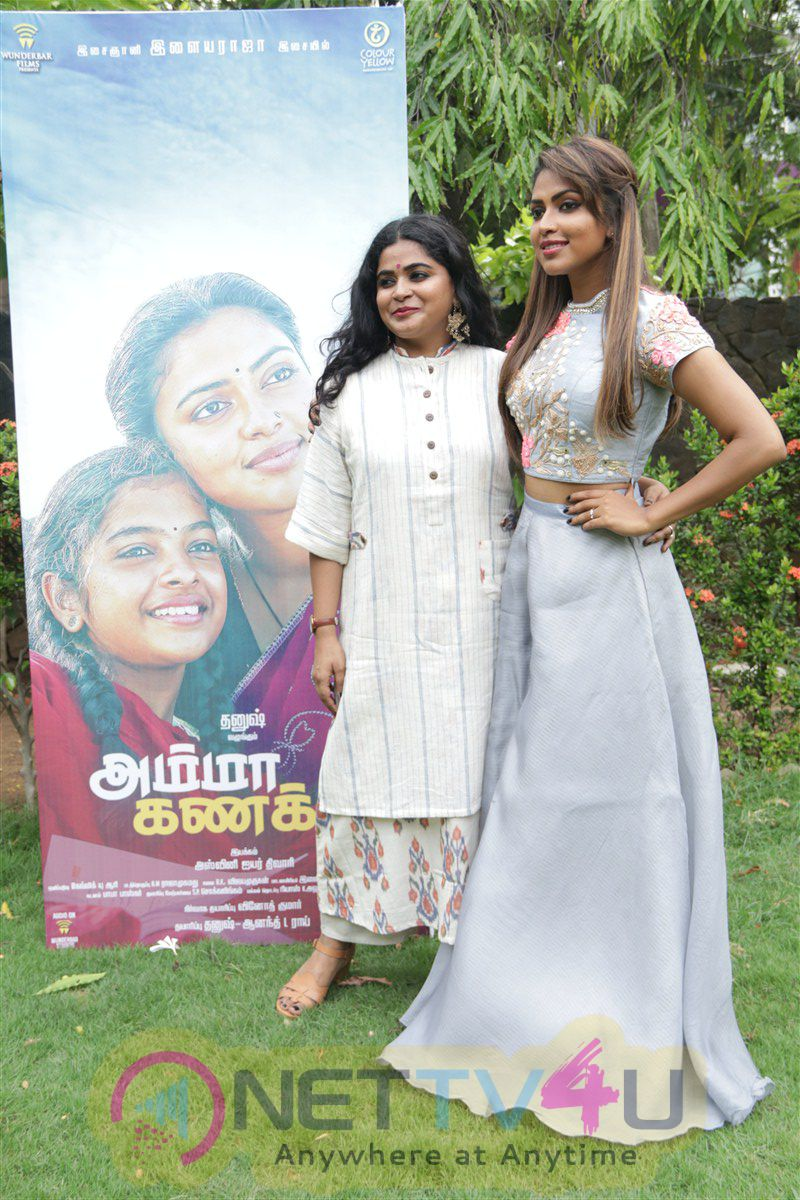 Amma Kanakku Tamil Movie  Audio And Trailer Launch Gorgeous Photos