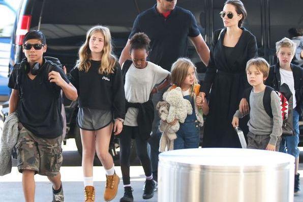Angelina Jolie Shifts To A New House!