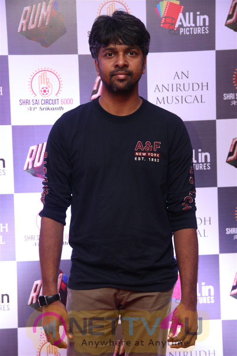 Anirudh Ravichander In Rum Movie Audio Launch At Vivek Photos