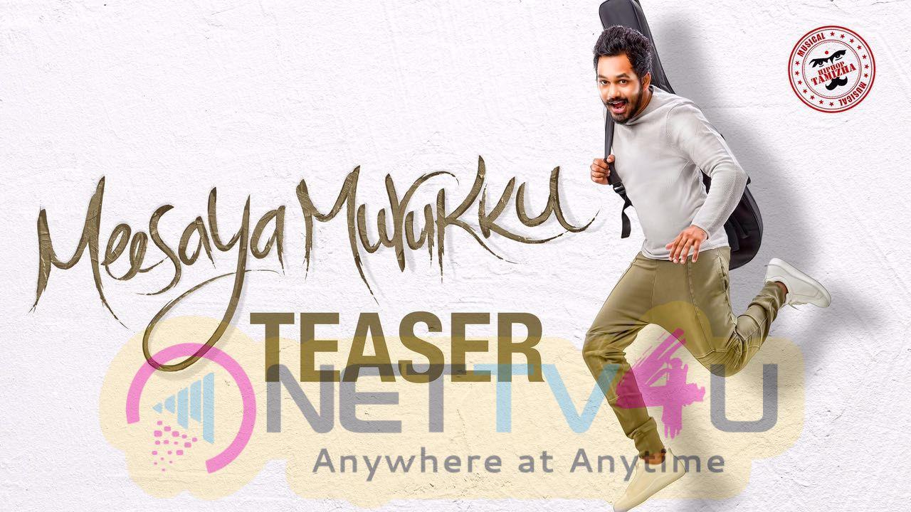 Avni Movies Sundar C Present Hiphop Tamizhan Meesaya Murukku Official Teaser Posters
