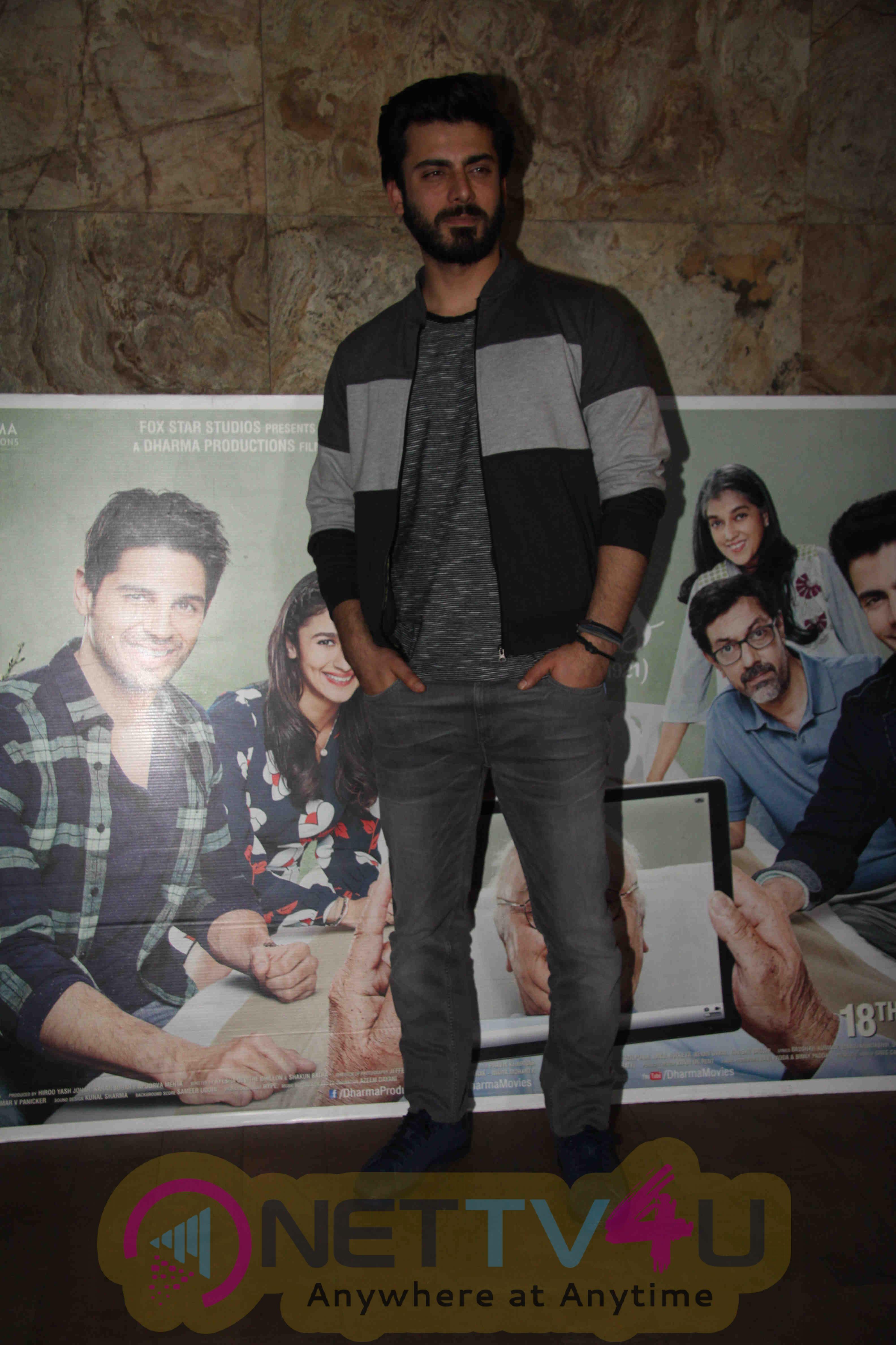 Aamir Khan, Anushka Sharma Fawad Khan At Film Kapoor & Sons Special Screening Stills