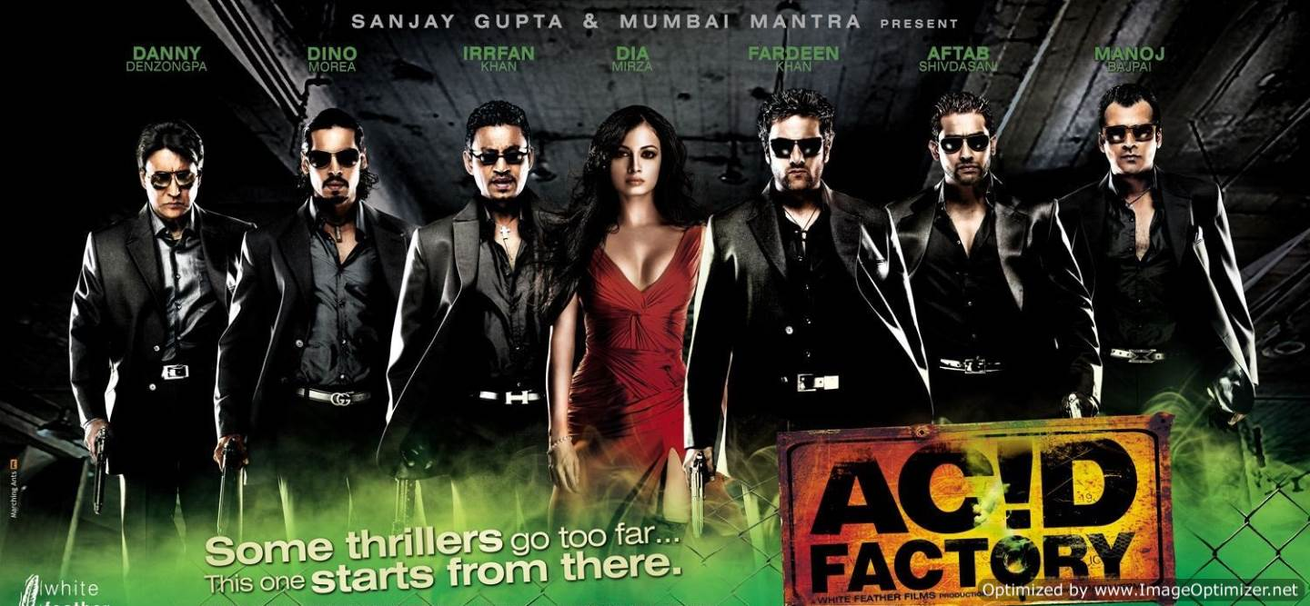Acid Factory Movie Review Hindi