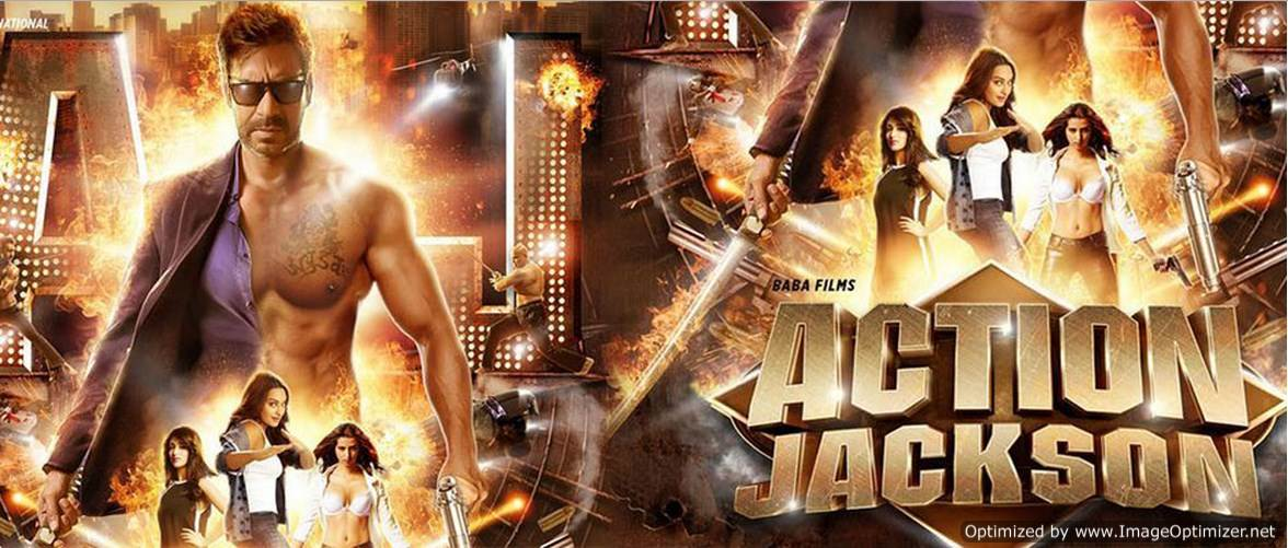 Action Jackson Movie Review Hindi
