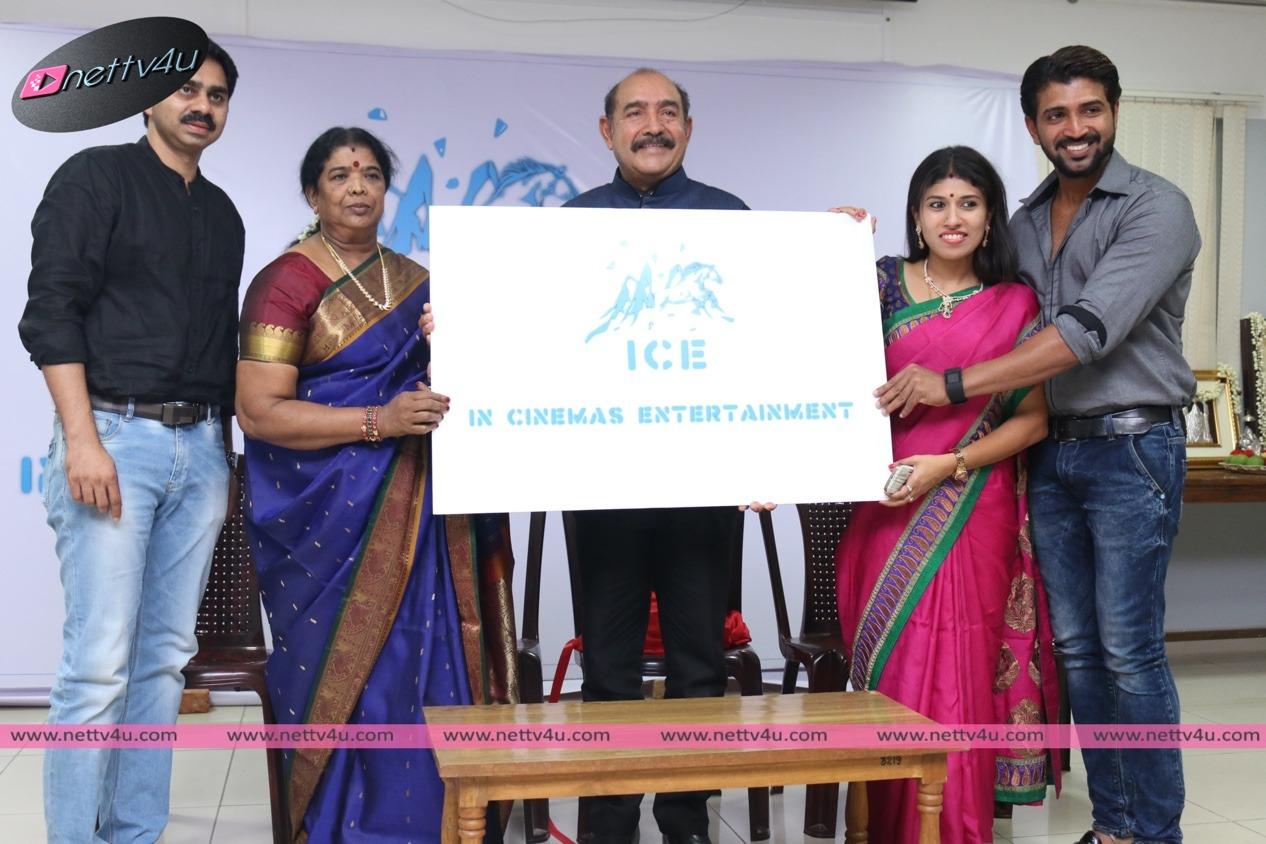 Actor Arun Vijay's ICE – In Cinemas Entertainment Production Company Launch Photos