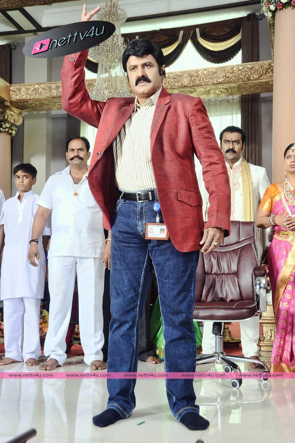 Actor Balakrishna In Lion Movie Stills