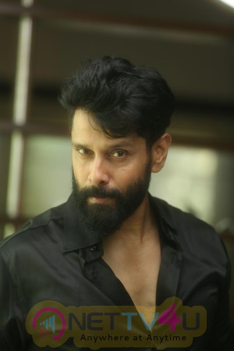 Actor Chiyaan Vikram Spirit Of Chennai Press Release Stills