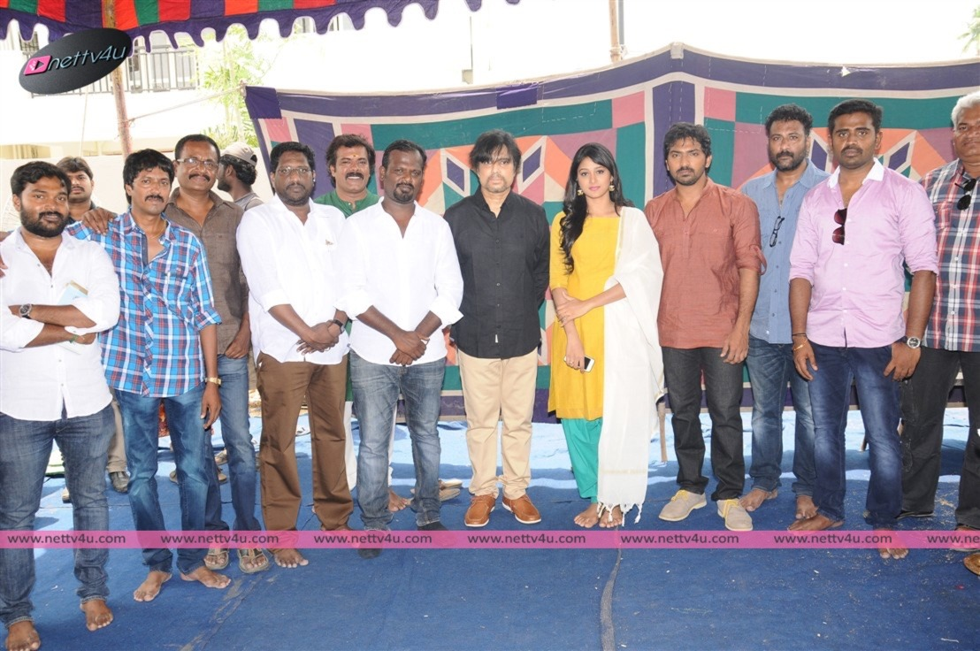 Actor Karthik's Jindhaa Movie Opening Photos
