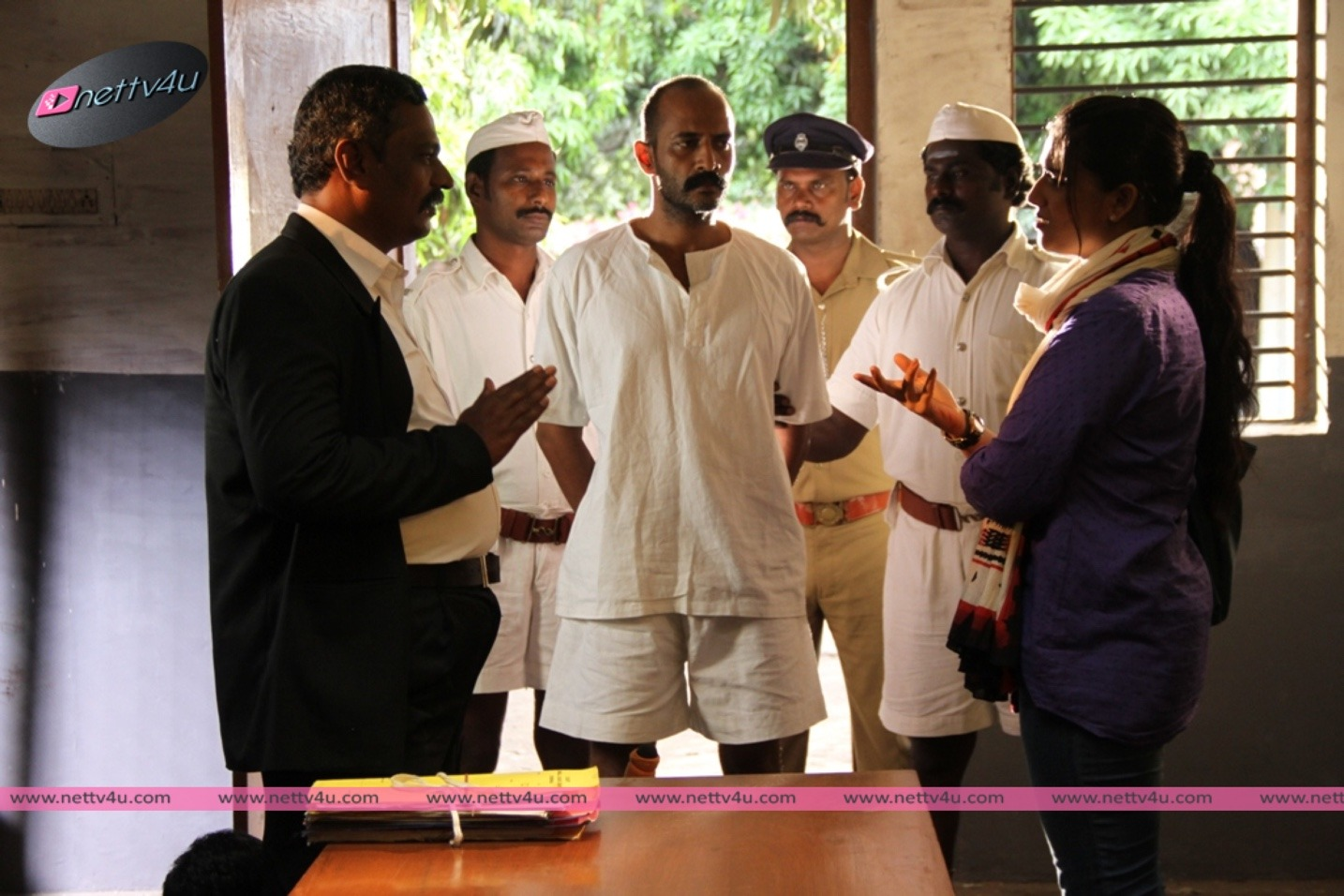 Actor Kishore's Buddan Yesu Gandhi Movie Stills First Look