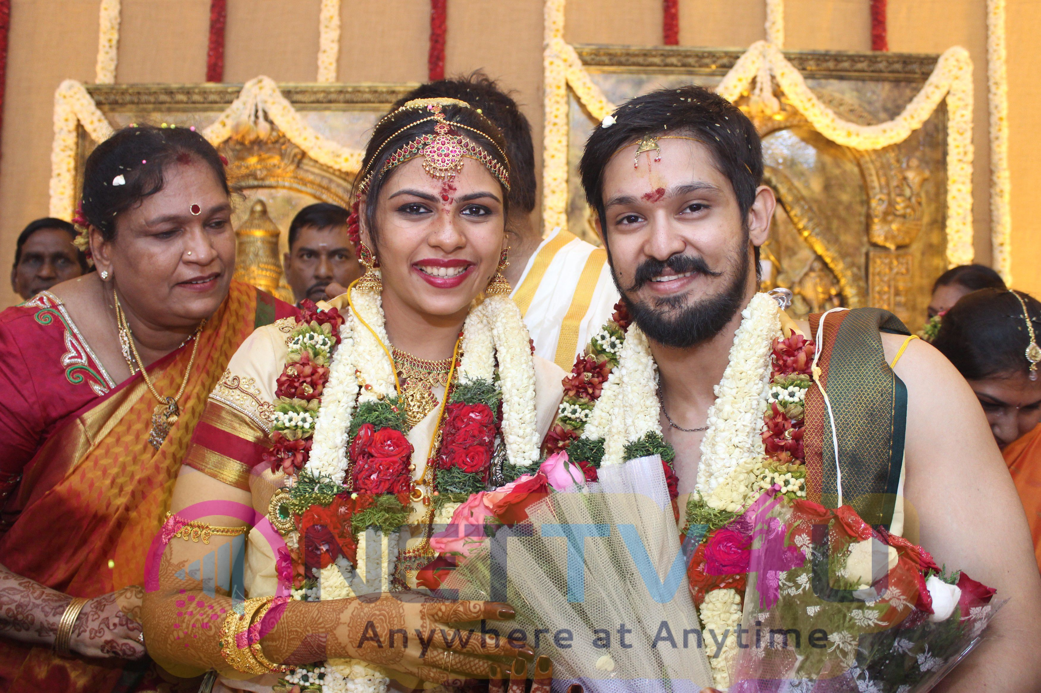 Nakul sruti wedding