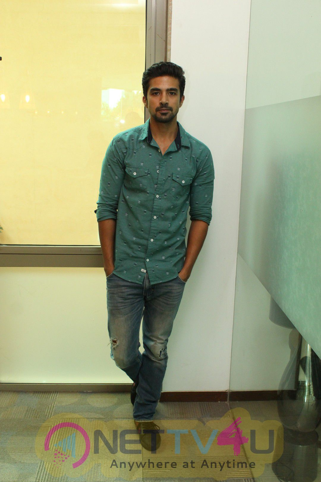 Actor Saqib Saleem Spotted During Media Interaction Excellent Photos Hindi Gallery