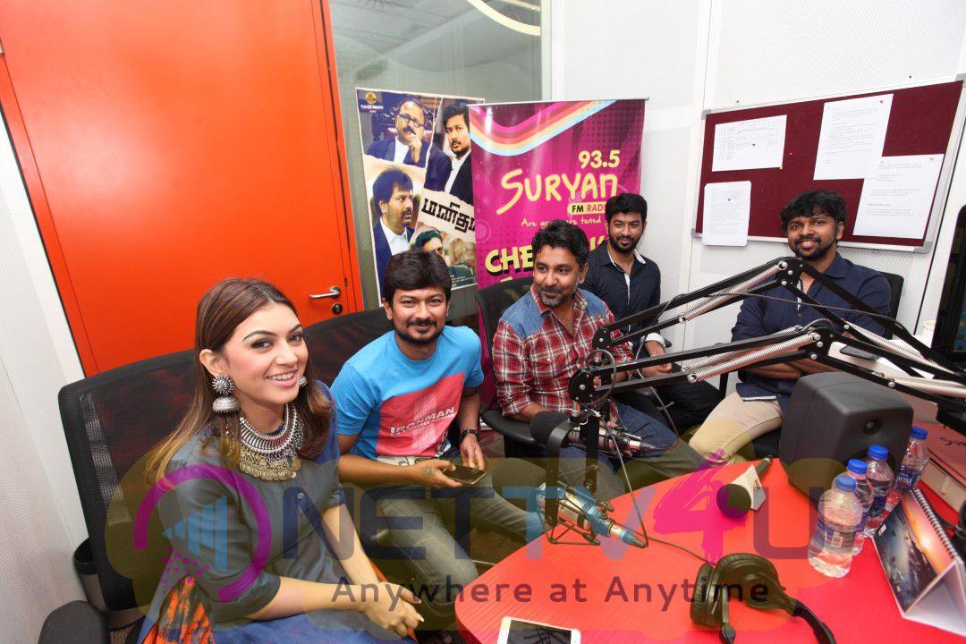 Actor Udhayanidhi Stalins Manithan Movie Audio Launch Latest Stills
