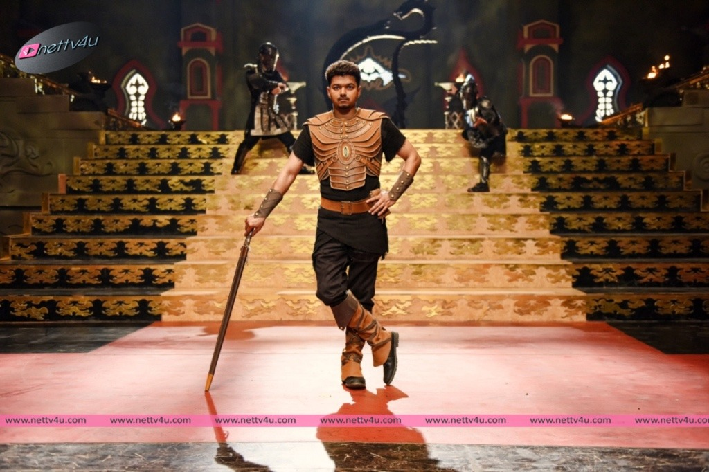 Actor Vijay's Puli Movie Stills First Look