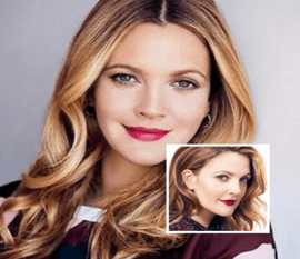 Actress Drew Barrymore Feeling Positive With He..