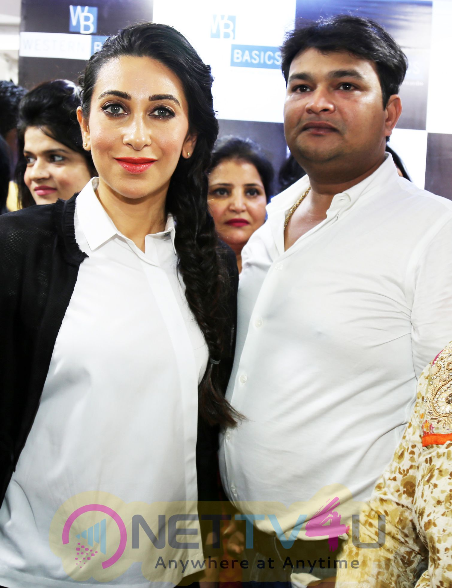 Actress Karisma Kapoor Inaugurated 'Western Basics' Kids Wear Store Event Photos