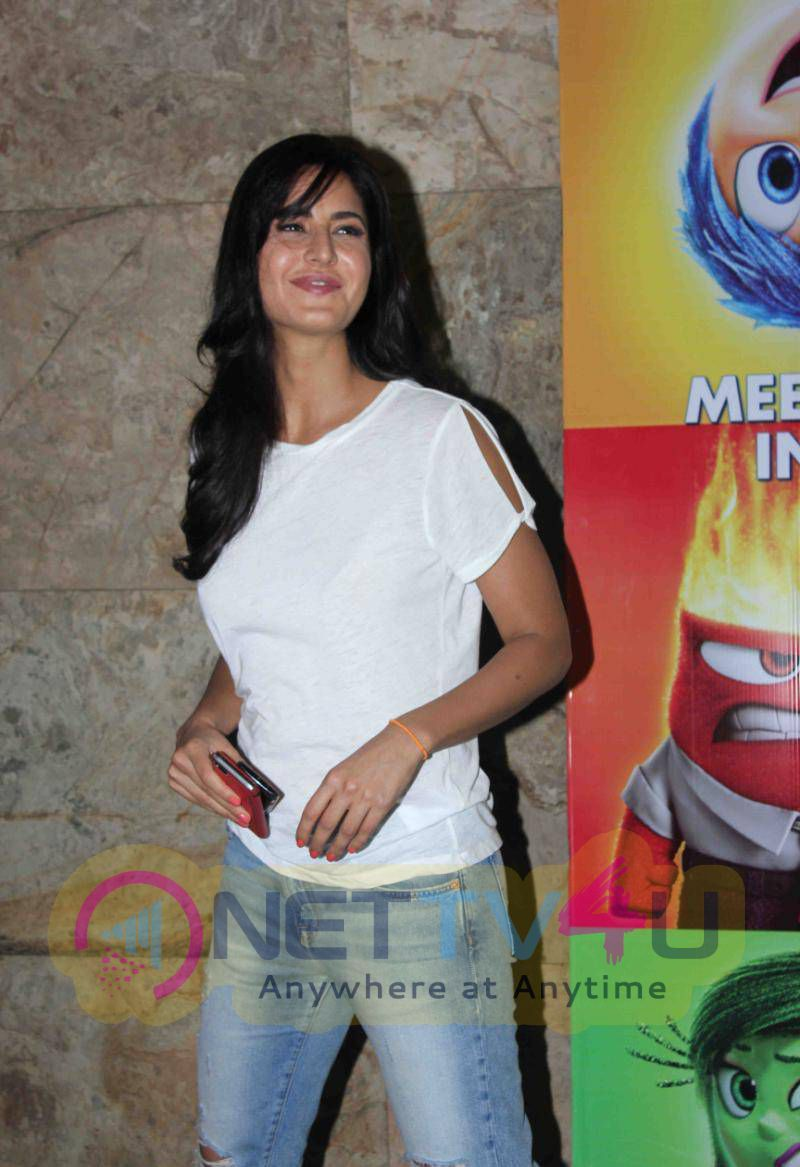 Actress Katrina Kaif Images At Inside Outside Movie Special Screening