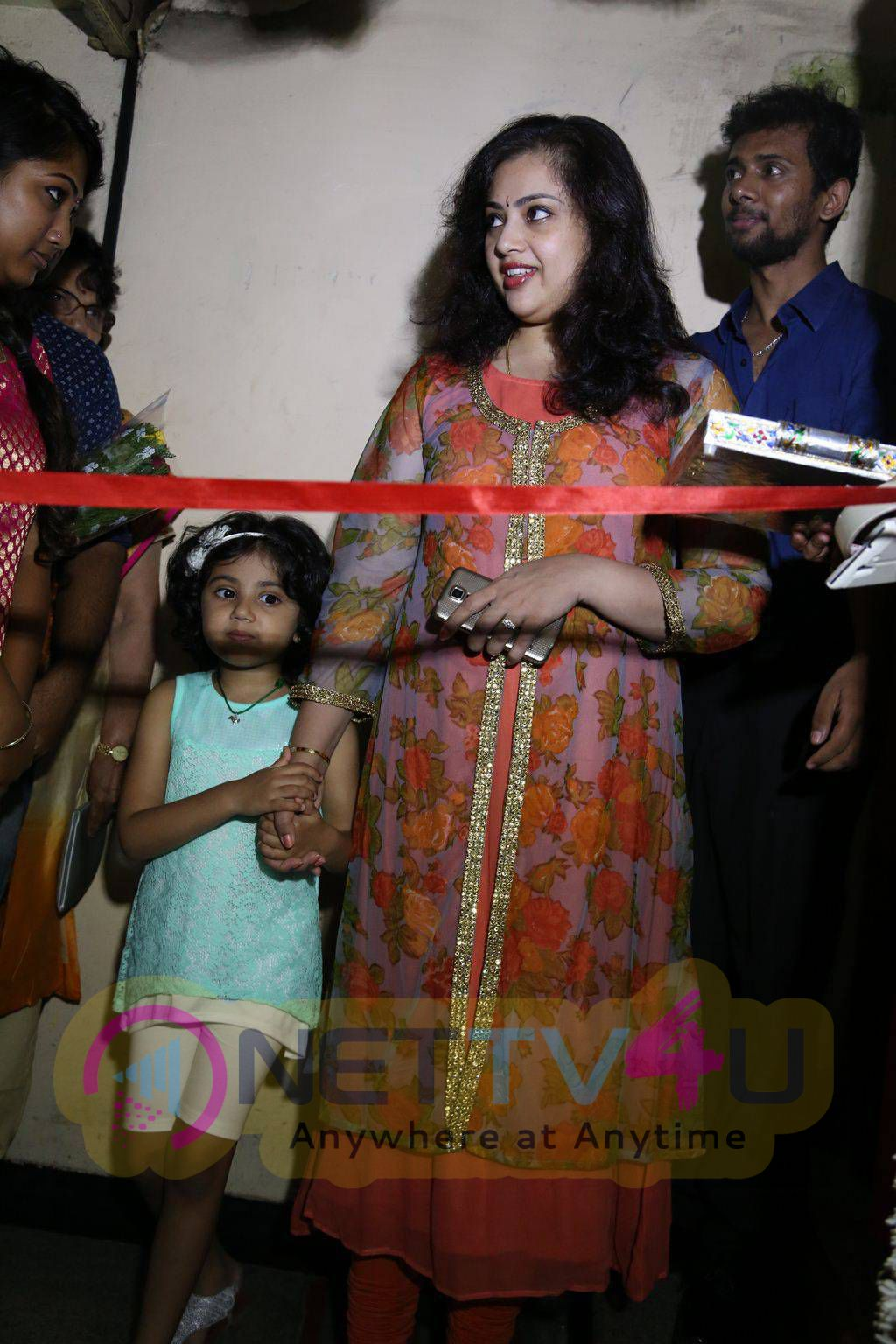 Actress Meena Latest Photos At Viscosity Dance Academy Launch
