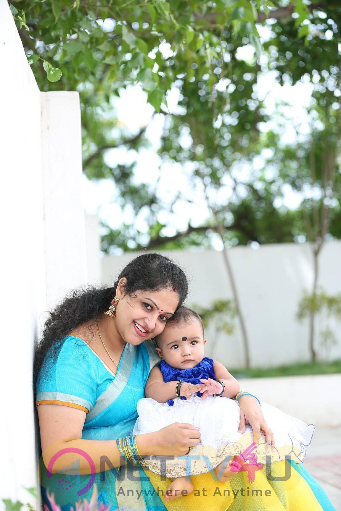 Actress Raasi Daughter Rithima Photos