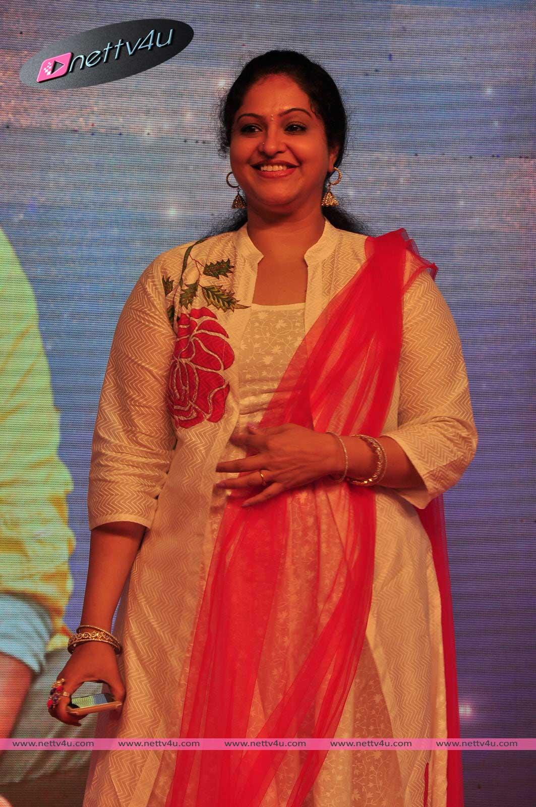 Actress Raasi Photos At Jilla Movie Audio Launch