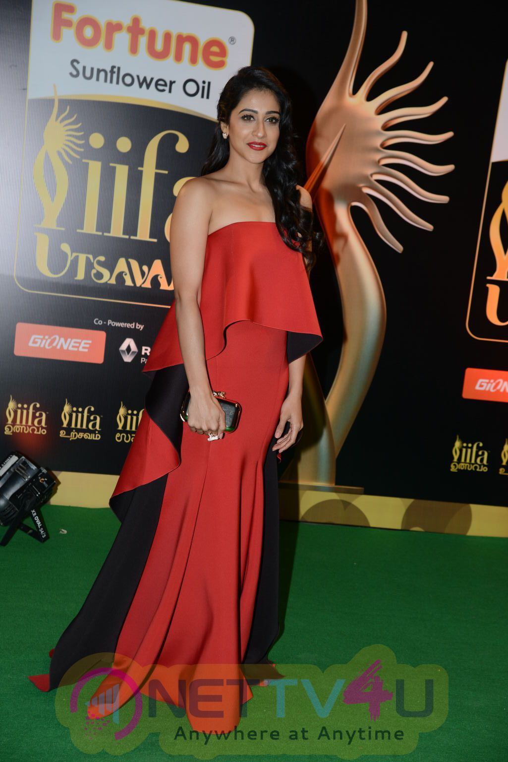 Actress Regina Cassandra Exclusive Images @ IIFA Utsavam