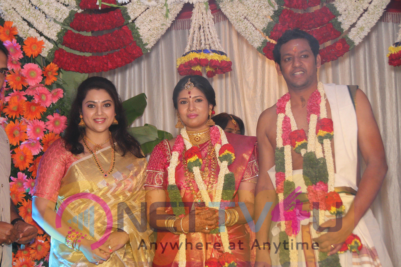 Actress Sanghavi N Venkatesh Wedding Stills