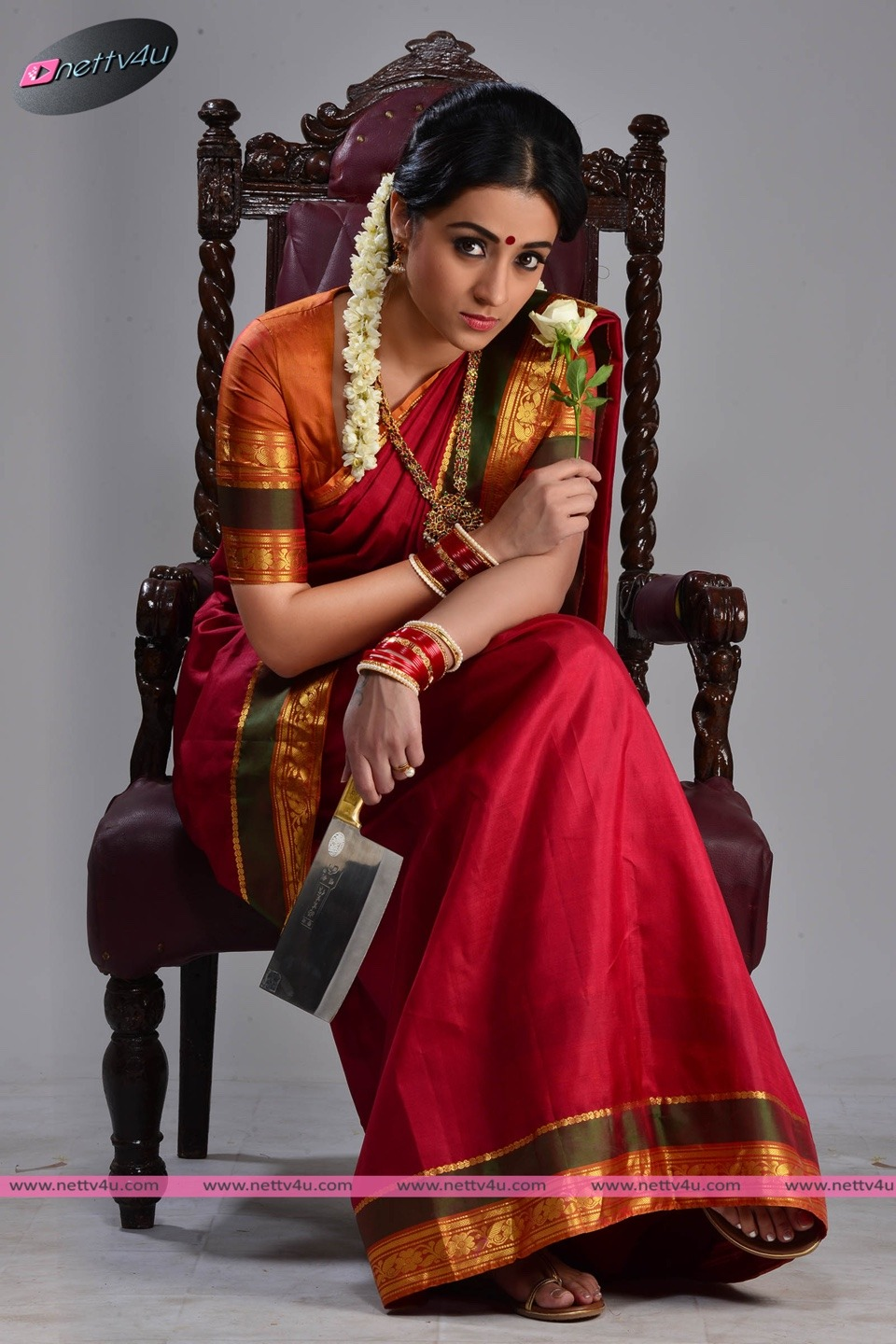 Actress Trisha's Charming Stills In Nayagi Movie