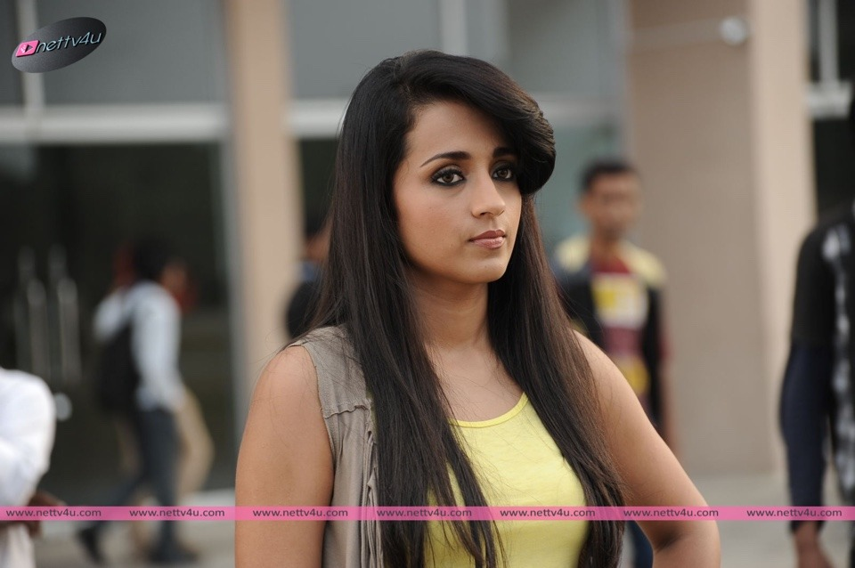 Actress Trisha's Expression In Movie