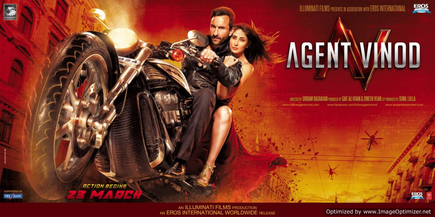 Agent Vinod Movie Review Hindi