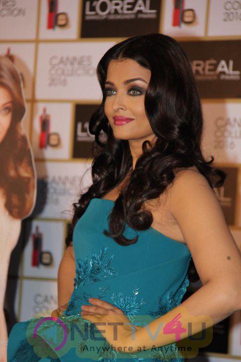 Aishwarya Rai Bachchan Unveils Loreal Paris Infallible Cannes 2016 Collection Stills
