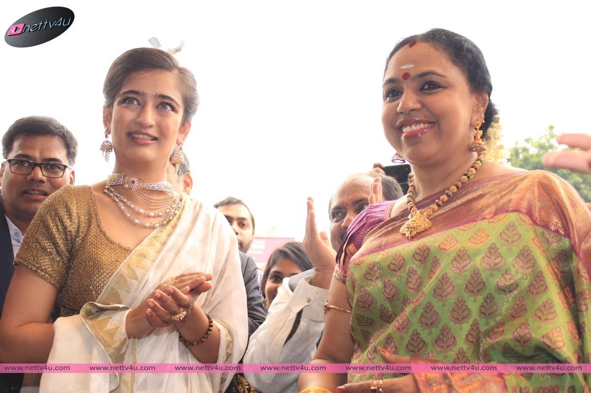 Akshara Hassan Inagurated Chennai Diamonds Anna Nagar Showroom