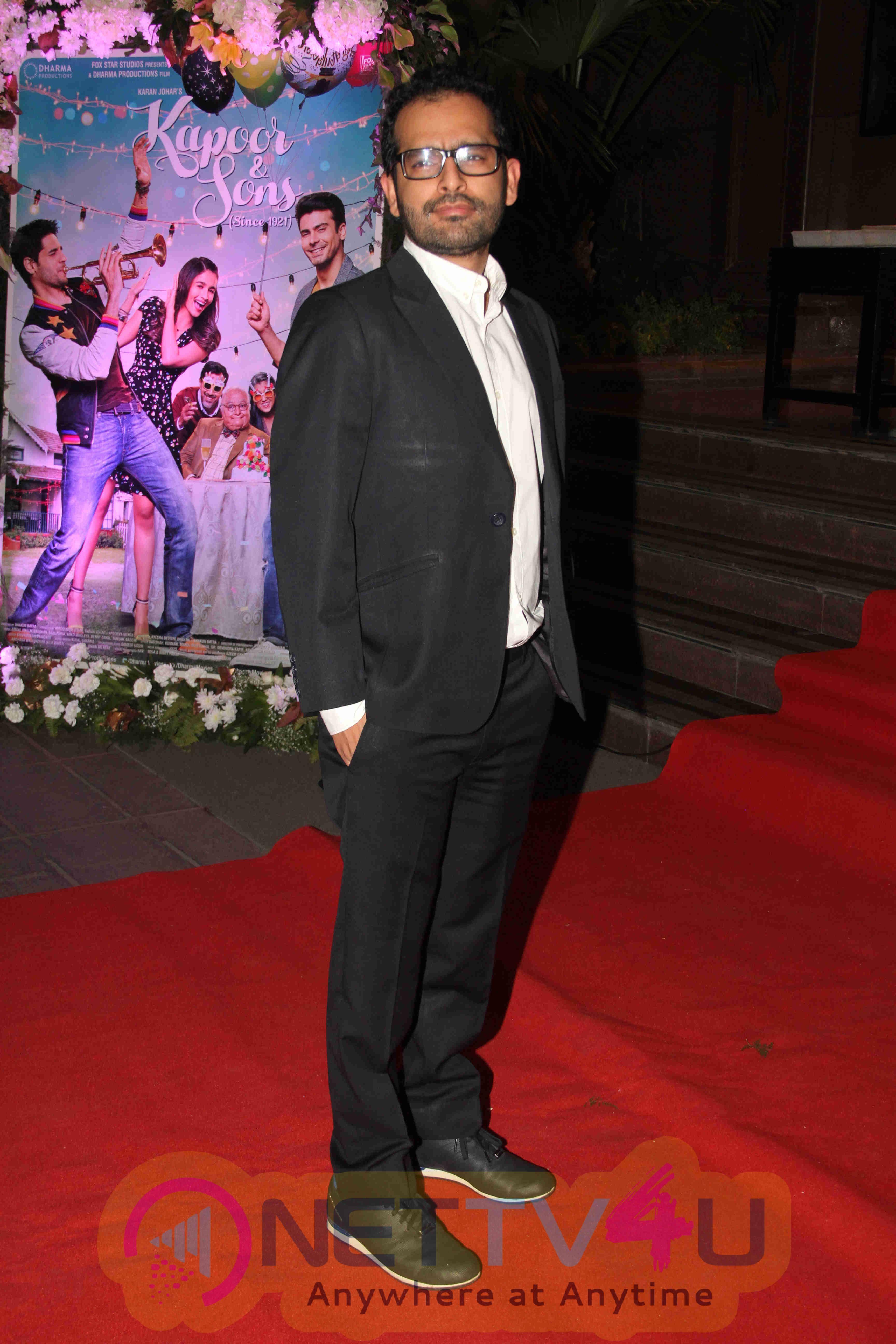 Alia, Sidharth, Fawad At Film Kapoor & Sons Success Party Photos Hindi Gallery