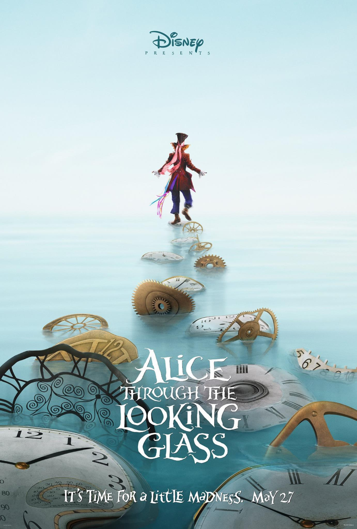 Alice Through the Looking Glass Movie Review English