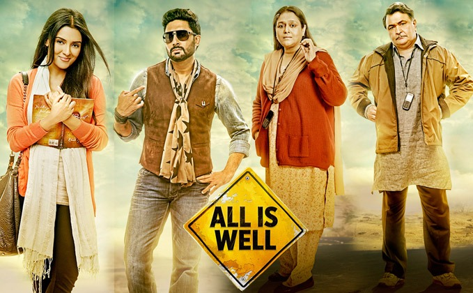 All Is Well Movie Review Hindi