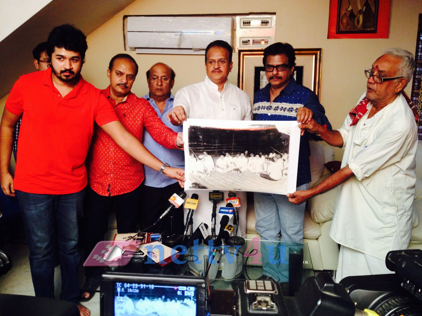 Ambitious Actor SSR Family Will Support Pandavar Ani In The Nadigar Sangam Election Photos