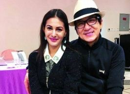 Amyra Gets Training From Jackie's Trainer!