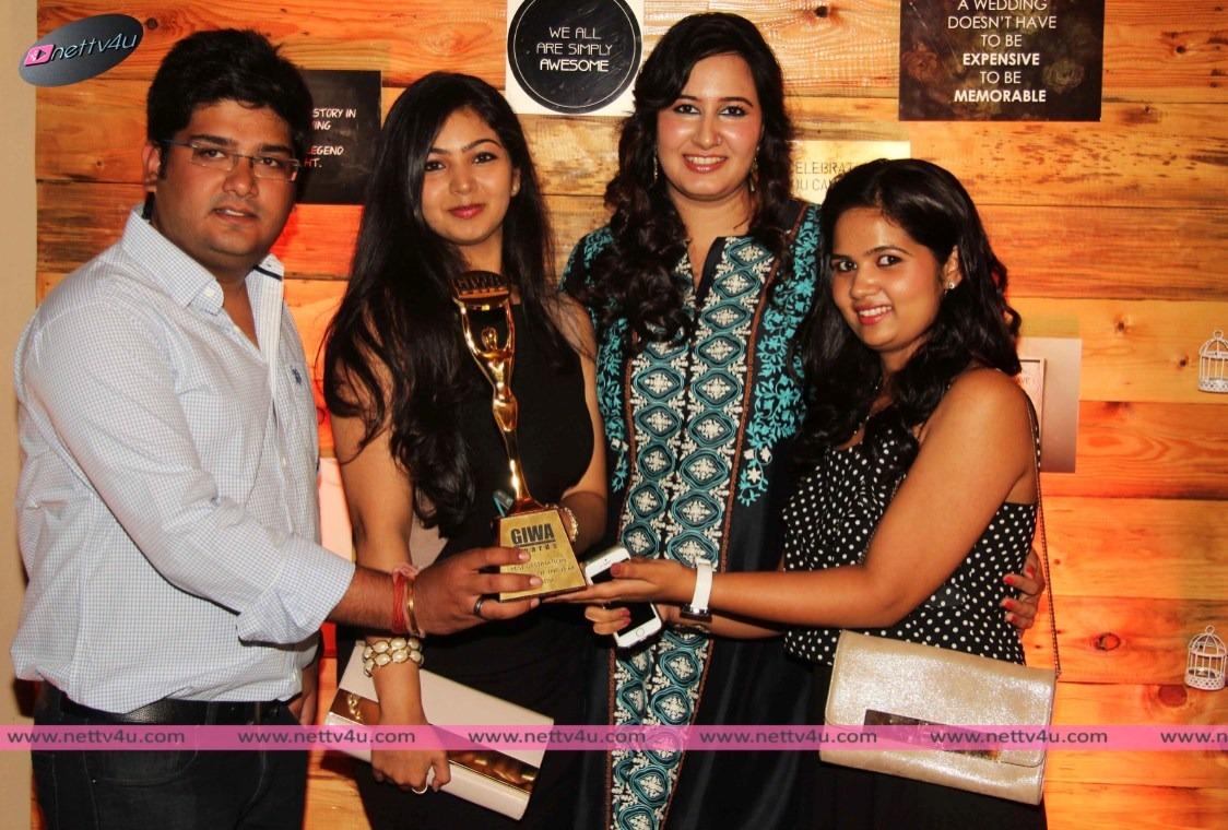 Ankita Chugh Celebrates International Honour with Her Friends in Mumbai