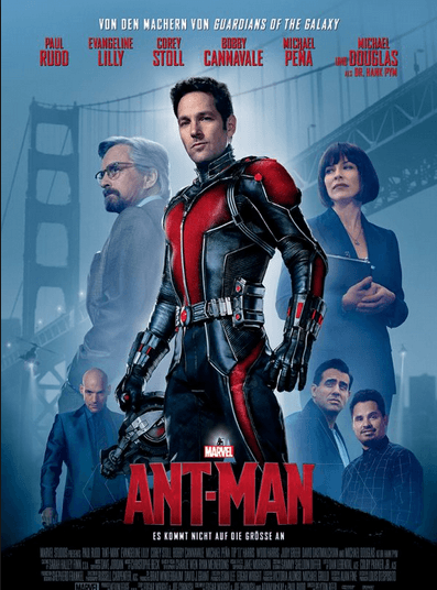 Ant Man Movie Review English