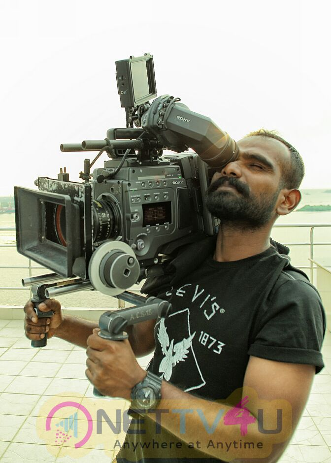 Anuraga Karikkin Vellam Movie Working Stills Malayalam Gallery