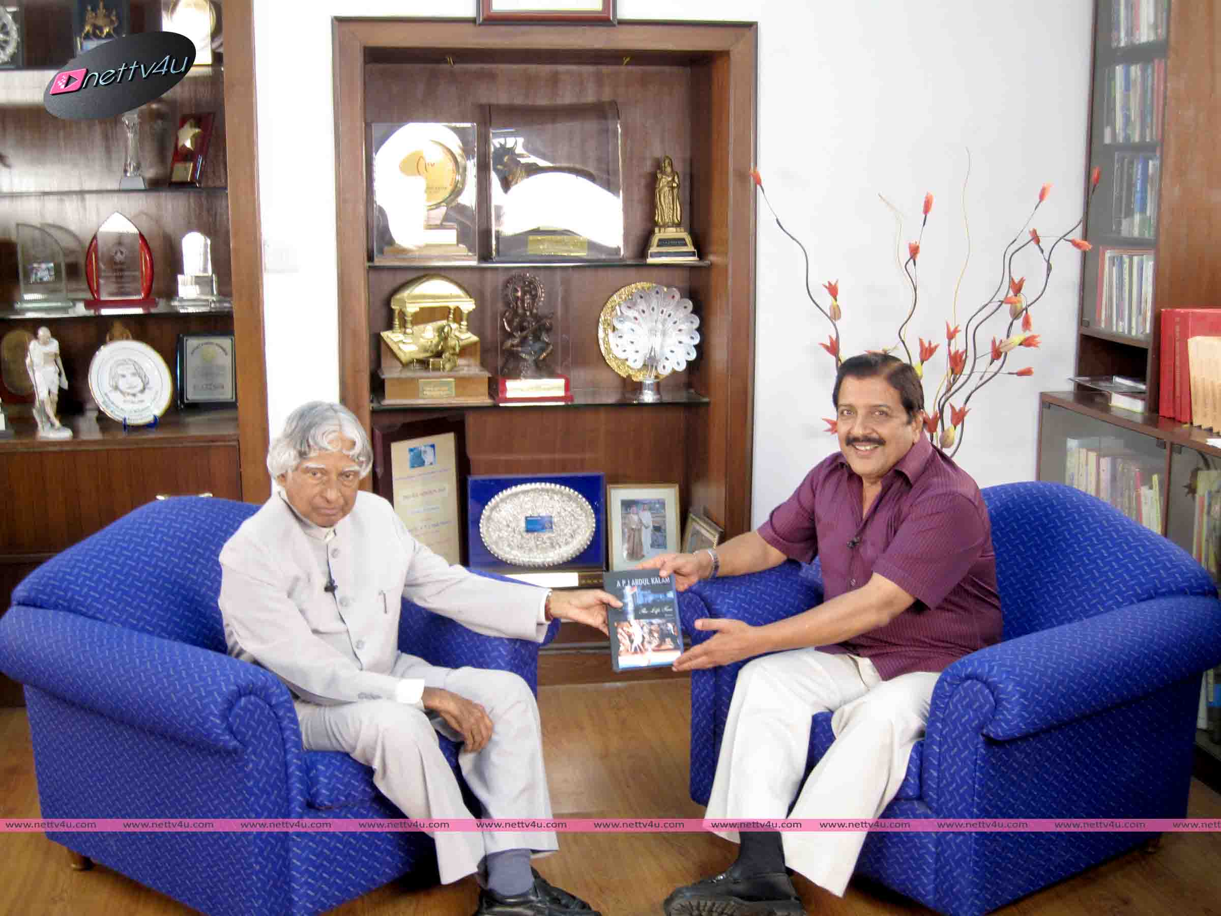APJ Abdul Kalam With Sivakumar Interview