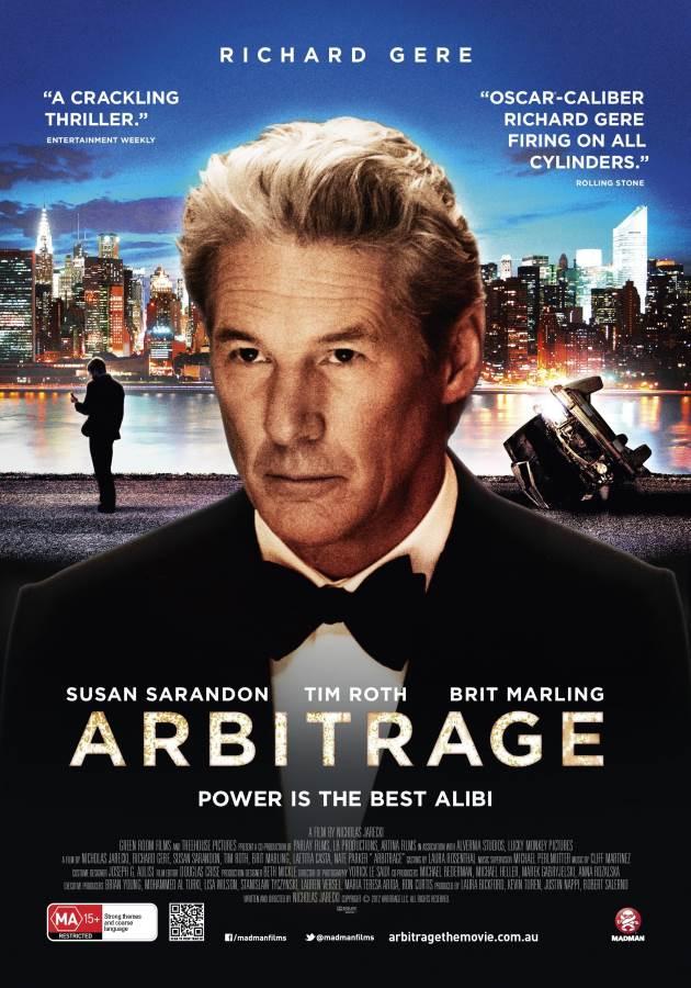 Arbitrage Movie Review English